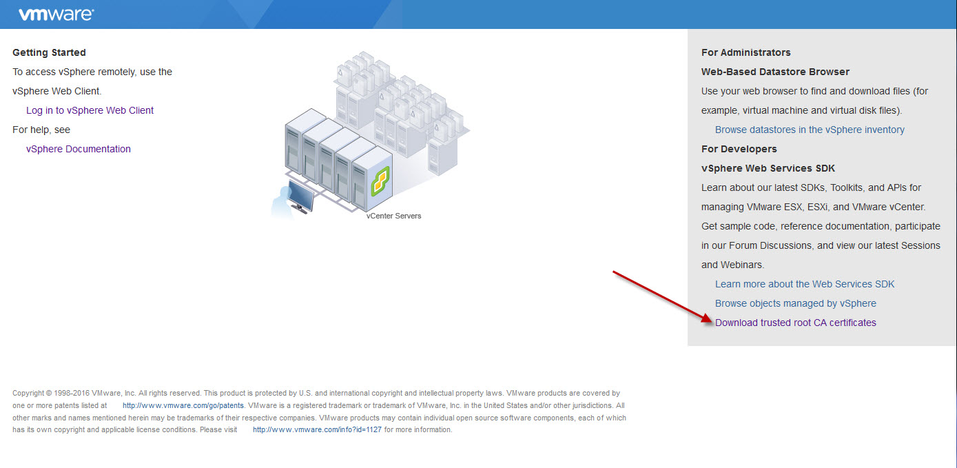 Import vmware vcenter trusted root ca certs pynut rename the download to zip extension xflitez Image collections