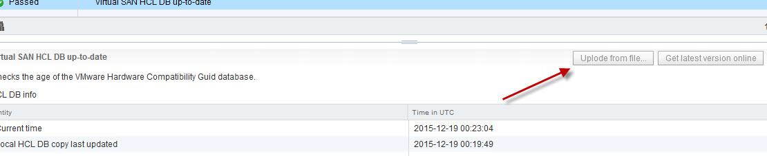 Download offline vSAN HCL DB – pynut com